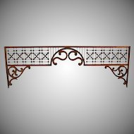 Victorian Oak Architectural Gingerbread Fretwork