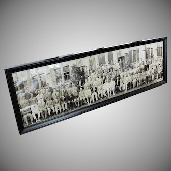 Vintage 1943 National Convention Fraternity Panoramic Photo