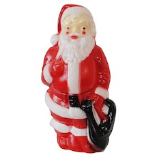 Vintage 1968 Empire Blow Mold Lighted Christmas Santa