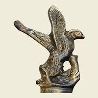 Vintage Cast Brass Peregrine Falcon Letter Opener