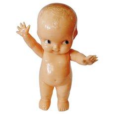 Irwin Hard Plastic Kewpie Style Doll