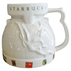 Starbucks Globe / World Travel Coffee Mug