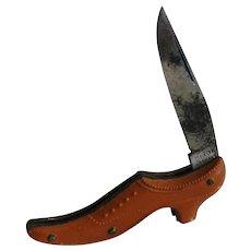 Dixon German Miniature Shoe Pocket Knife
