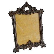 Ornate Easel Back Syroco Frame
