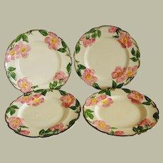 Franciscan Desert Rose 9 ½ Inch Dinner Plates