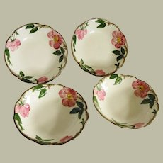 Franciscan Desert Rose Berry Bowls