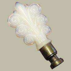 Vintage Aladdin Alacite Scroll Lamp Finial