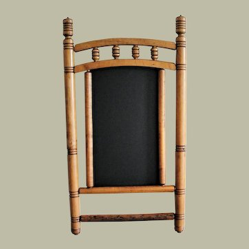 Early 1900's Maple Frame with Chalkboard
