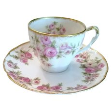 Haviland Demitasse Cup and Saucer