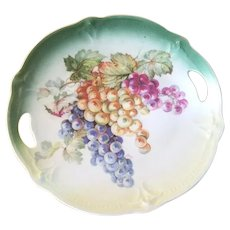 Transfer Cookie Plate with Grapes