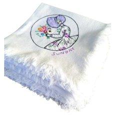 Sun Bonnet Dish Towels