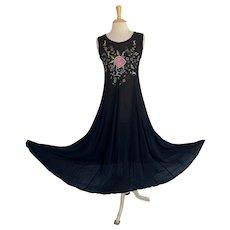 American Angel Vintage 1990s Boho Summer Dress