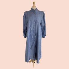 Selections Vintage 1980s Periwinkle Rain Coat