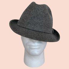 Pendleton Gray Wool Fedora