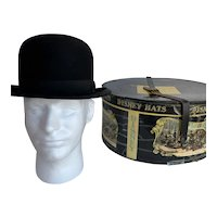 Dobbs Fifth Avenue Bowler Hat with Mr. Disney Box