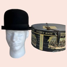 Dobbs Fifth Avenue Bowler Hat with Mr. Disney Box