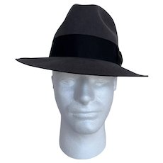 Bailey Vintage 1980s Fedora with Box
