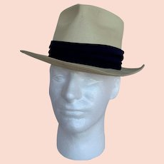 Sea Spray Straws Vintage 1950s Straw Fedora