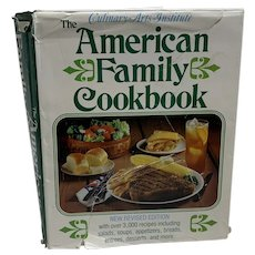 Culinary Arts Institute Vintage 1974 American Family Cookbook