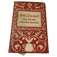 Betty Crocker Vintage 1950 Picture Cookbook First Edition, First Printing