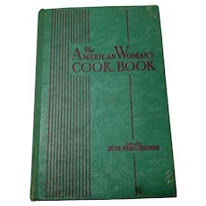 "Vintage 1942 American Woman""s Cookbook by Ruth Berolzheimer"