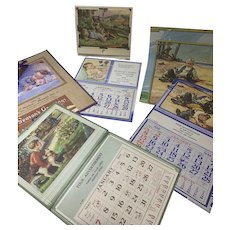 1939 Vintage Salesman's Sample Calendars, Assorted Lot