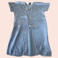 Alvicraft Blue Rayon, Vintage 1950s, Baby Robe