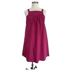 Bon Jour, Vintage 1980s, Jumper Dress
