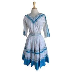 Toria Tassi Original, Vintage 1950s Patio Dress Set
