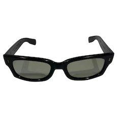 Polaroid Gray Vintage 1960s Sunglasses