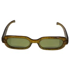 Honey Tortoise Polaroid Cool-Ray 1960s Sunglasses