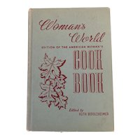 Woman's World, 1939 Edition of the American Woman's Cook Book