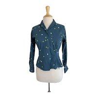 Terry Chicago Cotton Ladybug Print Shirt
