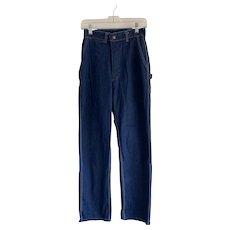 OshKosh B'Gosh 1960s High Waist Carpenter Jeans 27x32