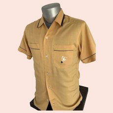 Crown Prince 1950s Bowling Shirt