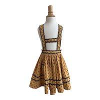 Folkloric 1950s/60s Handmade Girls Jumper