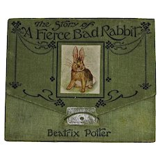 Beatrix Potter: A fierce bad rabbit. 1st Edition, 1st Issue. 1906