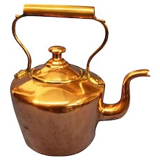 19th Century antique Copper Kettle
