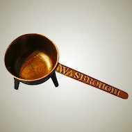 18th Century Cast Bronze Skillet