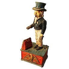 American Cast Iron  'Uncle Sam' Money box.