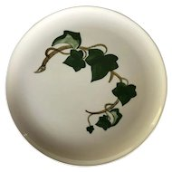 "1960s California Ivy Poppy Trail Metlox Vernon 13"" chop plate / round platter"