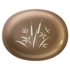 "1950s Vintage Marshland by Harmony House # 4638  ~ Mid century 13 1/2"" oval platter"