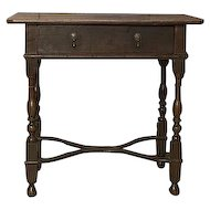 English 18th Century Oak Side Table