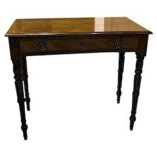 English Mahogany Side Table