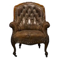 English Country House Library Chair