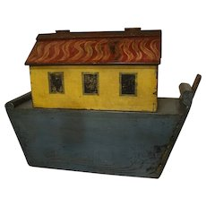 English Hand Painted Noah's Ark