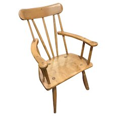 Sycamore and Ash Primitive Armchair