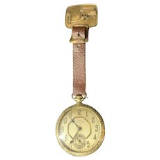 Dueber Hamden pocket watch #108 25 year 17 jewel Includes John Deere Watch Fob Works