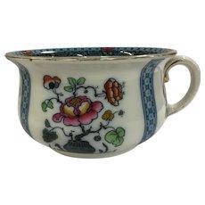 Losol Ware Chamber Pot Keeling & Co Blue Pink Floral