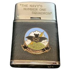"Flame Master Lighter USN ""The Navy's Number One Squadron"" Faireconron"
